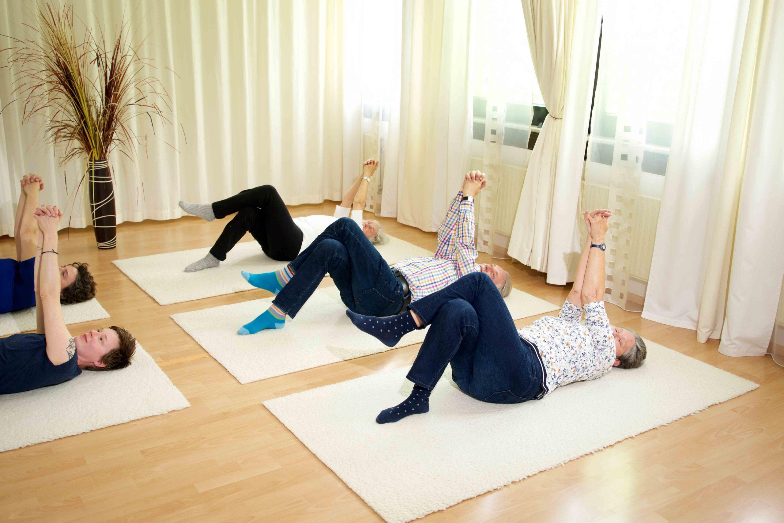 Feldenkrais Gruppe bei Physiotherapie Pro Corpore